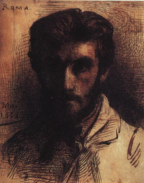 Bonnat, LEon Self Portrait QE oil painting image