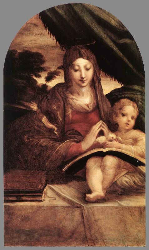 PARMIGIANINO Madonna and Child sg oil painting image