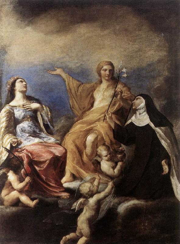 SACCHI, Andrea The Three Magdalenes DFY oil painting picture