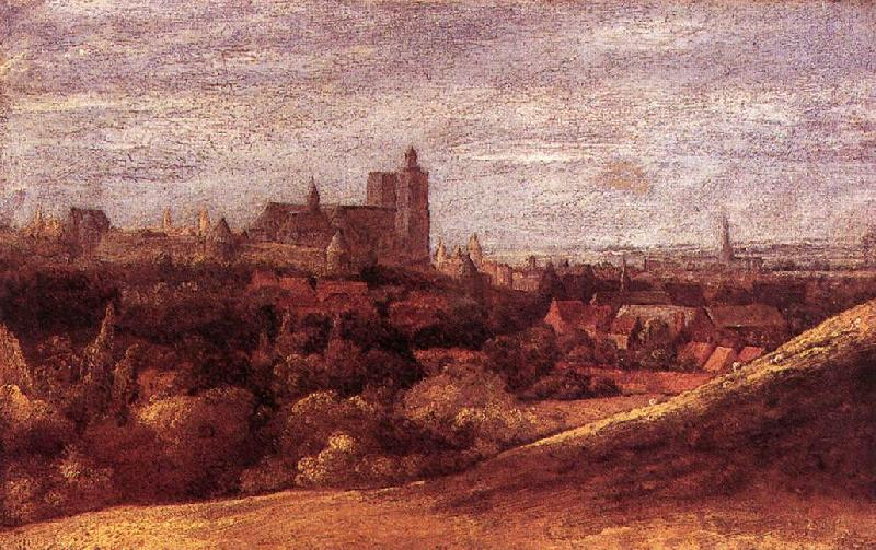 SEGHERS, Hercules View of Brussels from the North-East ar oil painting image