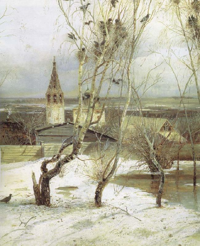 Alexei Savrasov The Rooks Have Returned oil painting picture