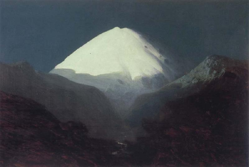 Arkhip Ivanovich Kuindzhi Elbrus-Moonlight oil painting picture