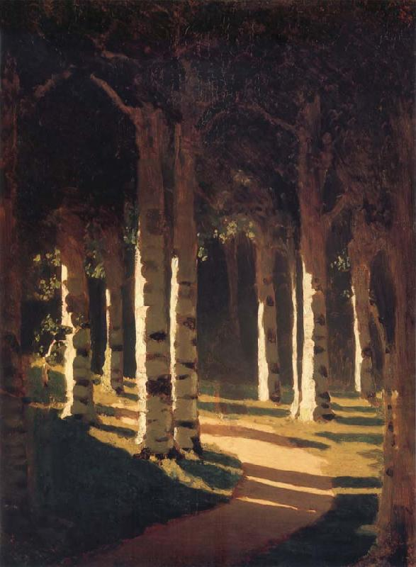 Arkhip Ivanovich Kuindzhi The sun in the park oil painting picture
