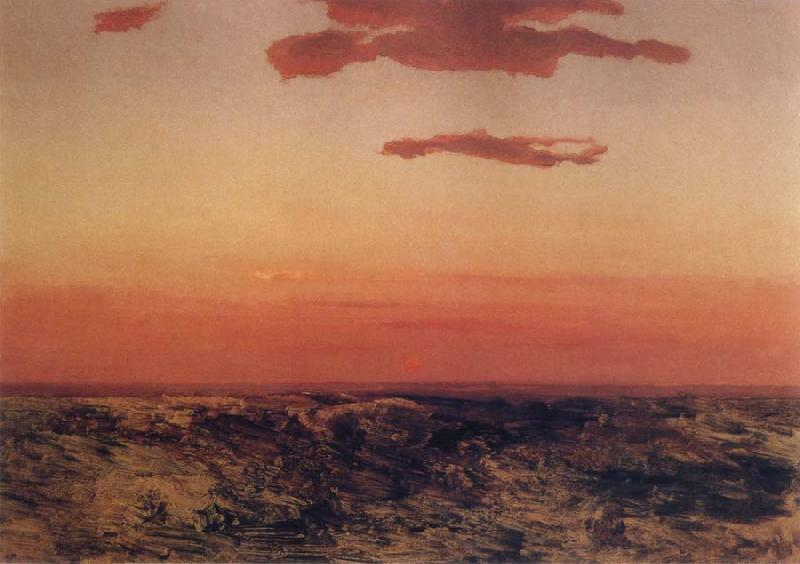 Arkhip Ivanovich Kuindzhi Sunset oil painting picture