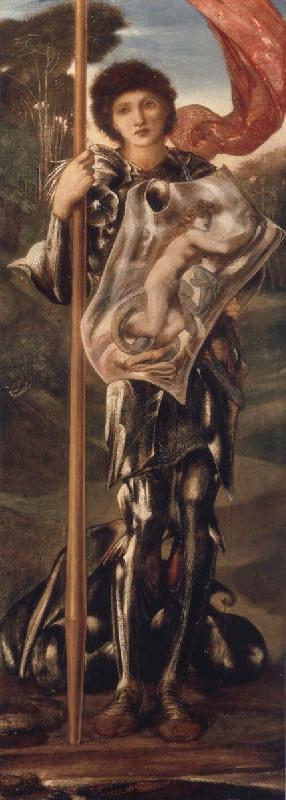 Burne-Jones, Sir Edward Coley Saint George oil painting picture
