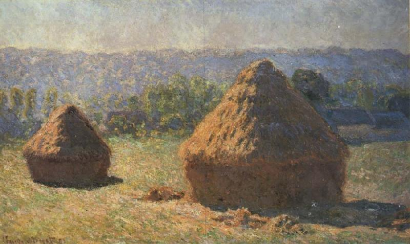 Claude Monet Haystacks oil painting picture