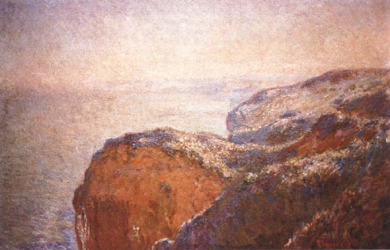 Claude Monet At Val Saint-Nicolas near Dieppe in the Morning oil painting picture
