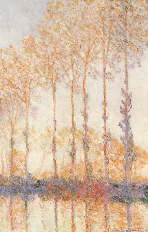 Claude Monet Peupliers an Bourd de l-Epte oil painting picture