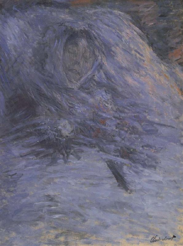 Claude Monet Camile Monet on her Deathbed oil painting picture