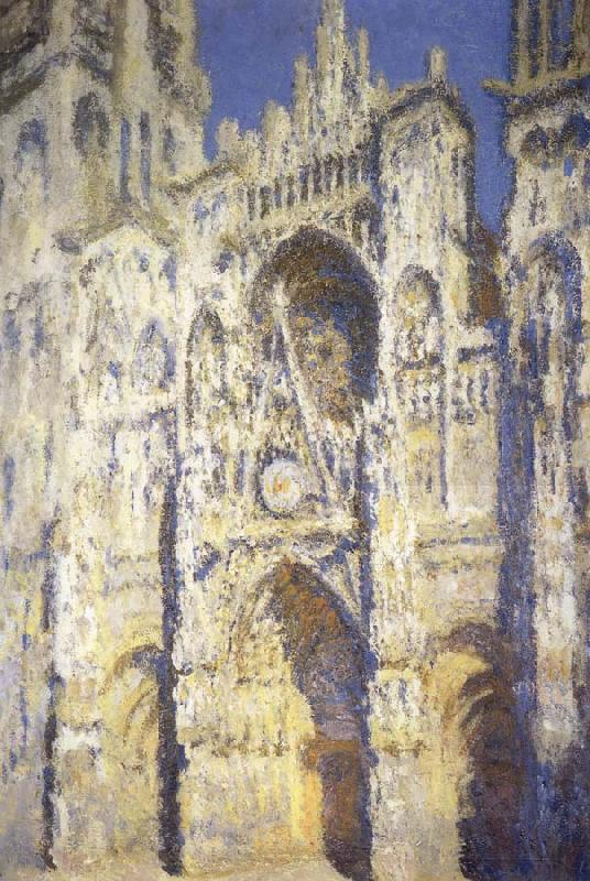 Claude Monet La Cathedrale de Rouen,Portrait et Tour d Albane oil painting picture