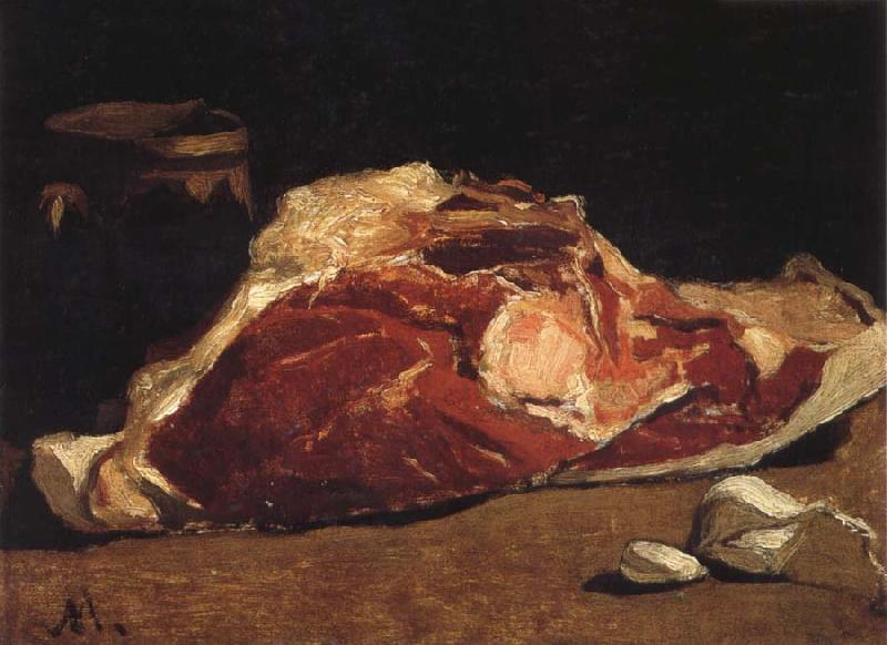 Claude Monet Still Life with Meat oil painting picture