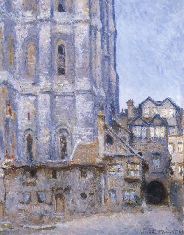 Claude Monet The Cour d Albane oil painting picture