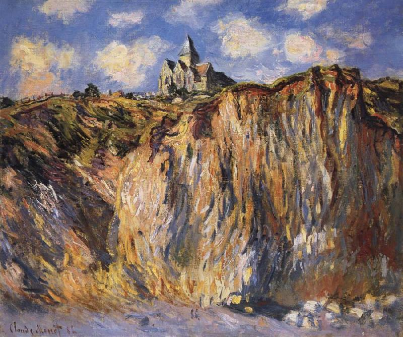 Claude Monet The Church at Varengville,Morning Effect oil painting picture