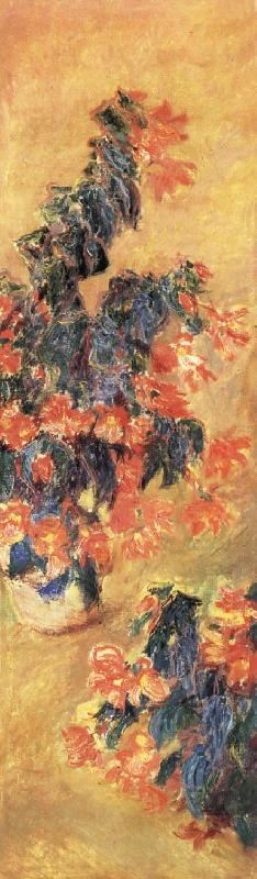 Claude Monet Red Azaleas in a Pot oil painting picture