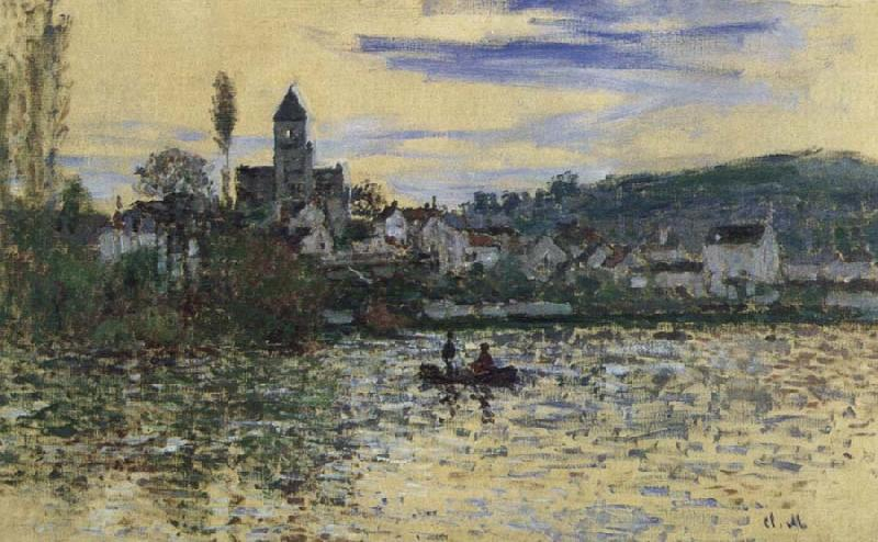 Claude Monet The Seine at Vetheuil oil painting picture
