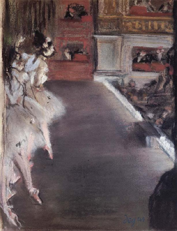 Edgar Degas L-Opera oil painting picture