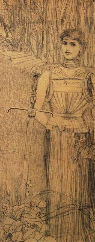 Fernand Khnopff Design for frontispiece for the works of Auguste Villiers de L Isle-d-Adam oil painting picture