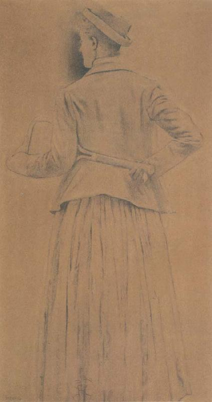 Fernand Khnopff Study For Memories oil painting picture