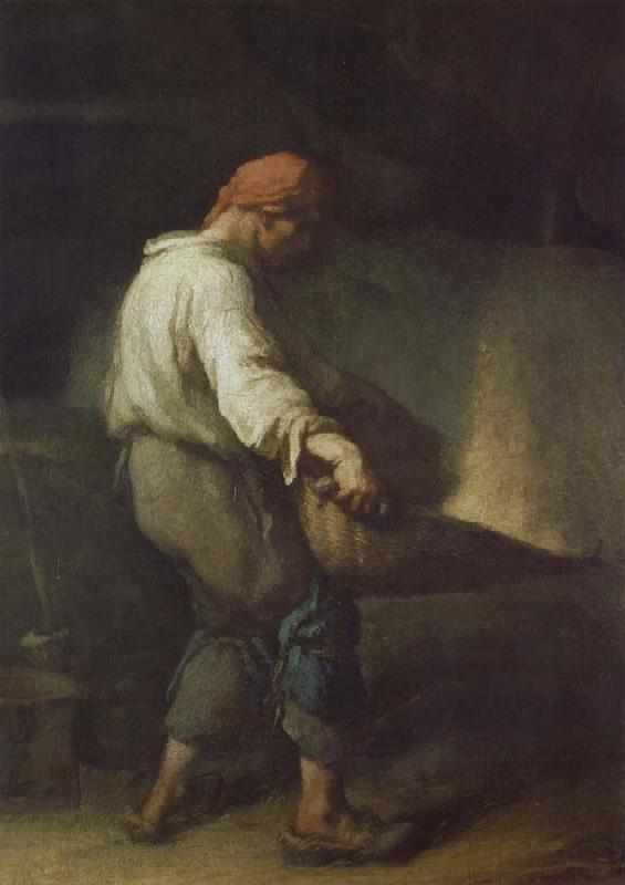 Jean Francois Millet The Winnower oil painting picture