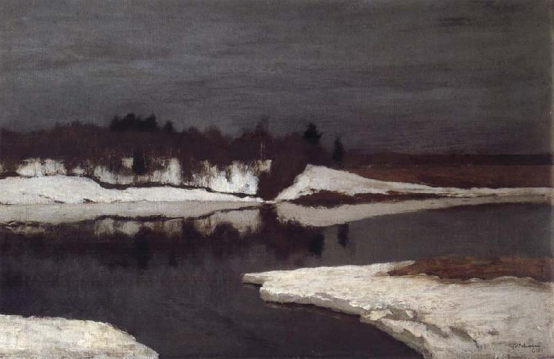Levitan, Isaak Early Spring oil painting picture