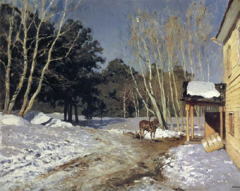 Levitan, Isaak March oil painting picture