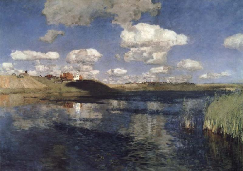 Levitan, Isaak Lake oil painting image