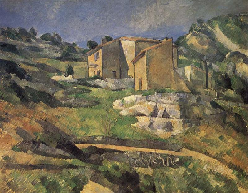Paul Cezanne Maisons a L-Estaque oil painting picture