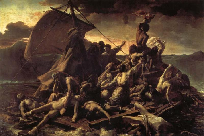 Theodore Gericault The Raft of the Medusa oil painting picture