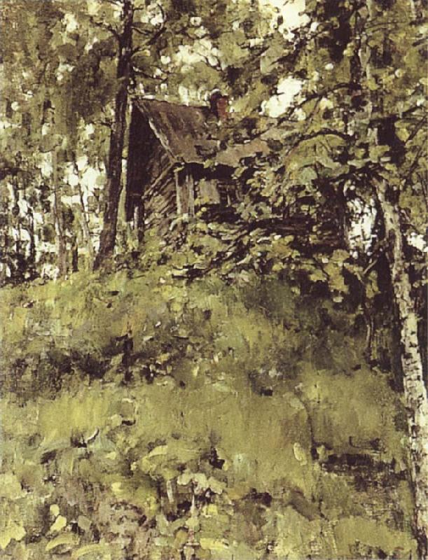 Valentin Serov Old Bath at Domothanovo oil painting picture