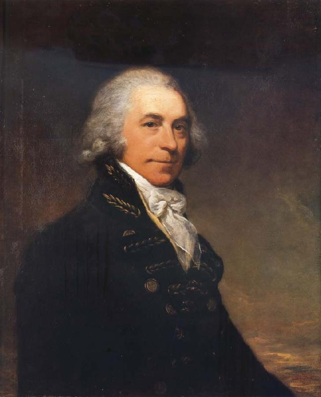 Arthur Devis A Portrait of Captain James Urmston oil painting image