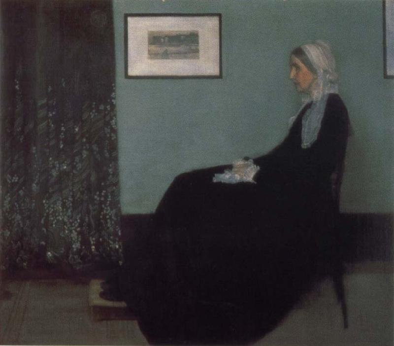 James Mcneill Whistler Portrait of Painter-s Mother oil painting image