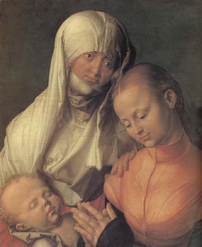 Albrecht Durer Anne with the virgin and the infant Christ oil painting image