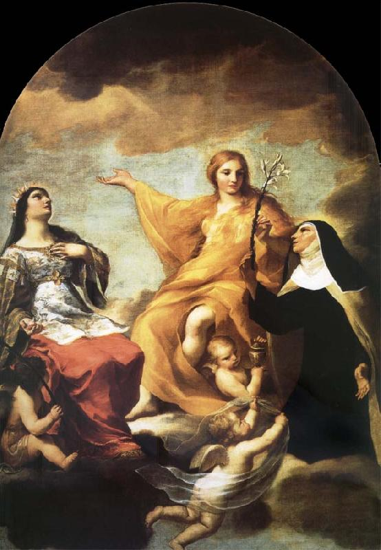 Andrea Sacchi The three Mary magdalene oil painting image