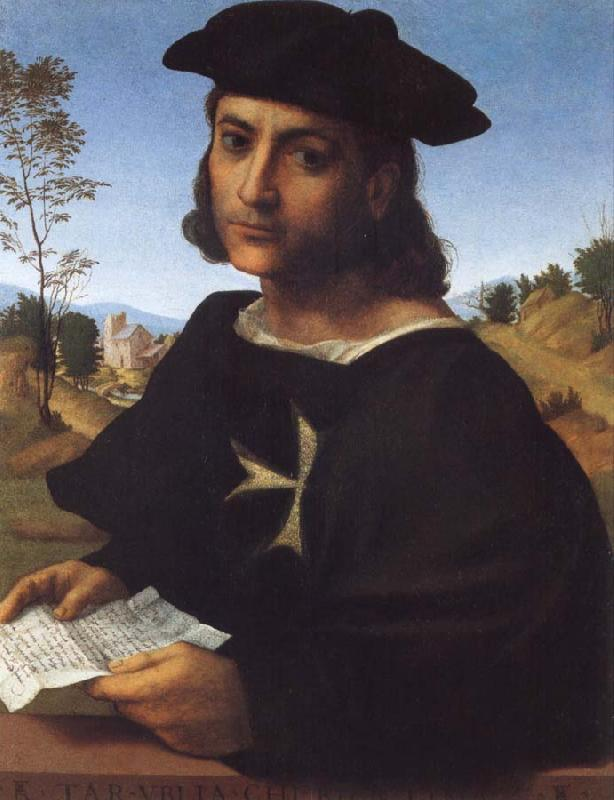 FRANCIABIGIO Portrait of a Kning of Rhodes oil painting image