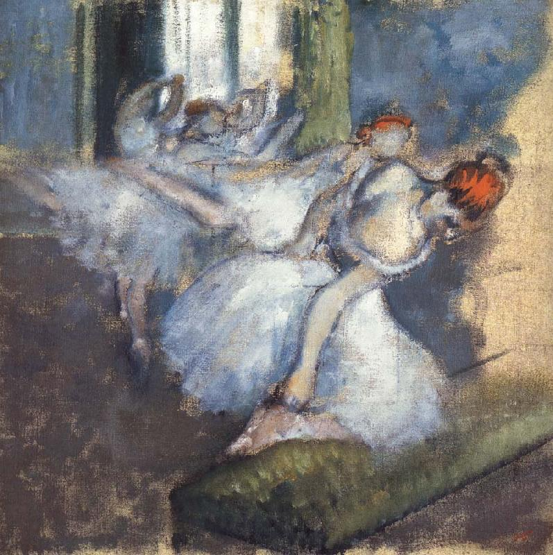 Germain Hilaire Edgard Degas Ballet Dancers oil painting picture