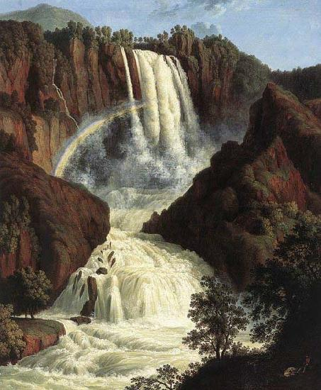 Jakob Philipp Hackert The Waterfalls at Terni oil painting picture