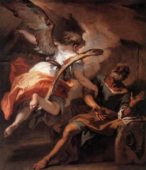 RICCI, Sebastiano The Liberation of St Peter oil painting image
