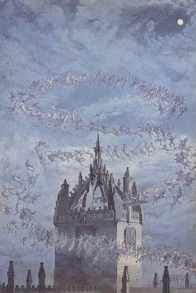 Charles Altamont Doyle Saint Giles-His Bells (mk46) oil painting image