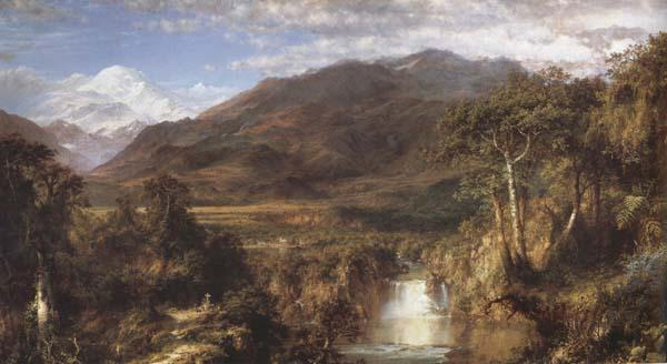 Frederic E.Church Heart of the Andes oil painting picture