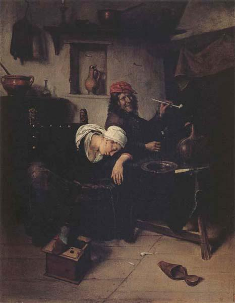 Jan Steen The Idlers oil painting picture