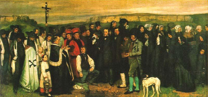 Gustave Courbet Gustave Courbet. A Burial at Ornans oil painting image