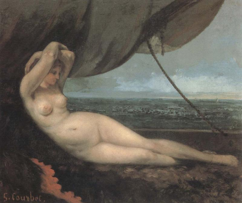 Gustave Courbet Naked oil painting picture
