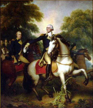 Rembrandt Peale Washington Before Yorktown oil painting image