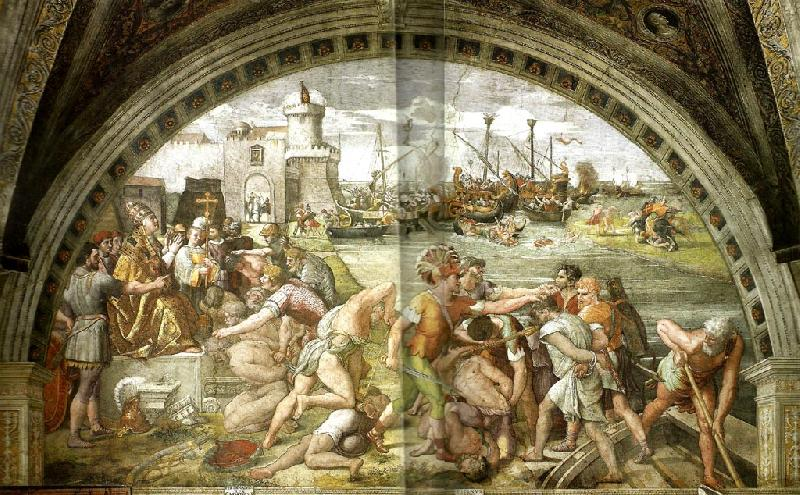 Raphael raphael in rome- in the service of the pope oil painting image