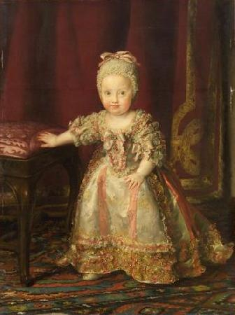 Anton Raphael Mengs Infantin Maria Theresa von Neapel oil painting image