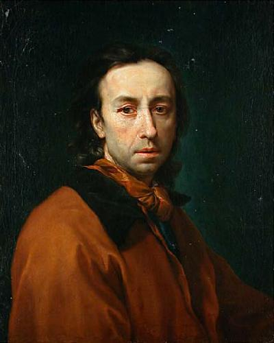 Anton Raphael Mengs Self-portrait oil painting image
