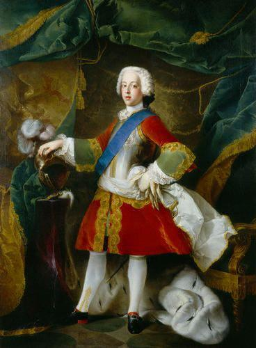 Blanchet, Louis-Gabriel Portrait of Charles Edward Stuart oil painting image