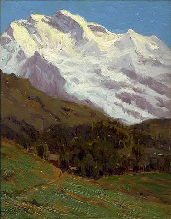 Charles Warren Eaton The Jungfrau oil painting picture