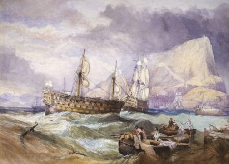 Clarkson Frederick Stanfield Victory oil painting image