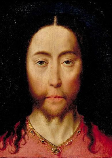 Dieric Bouts Head of Christ oil painting image